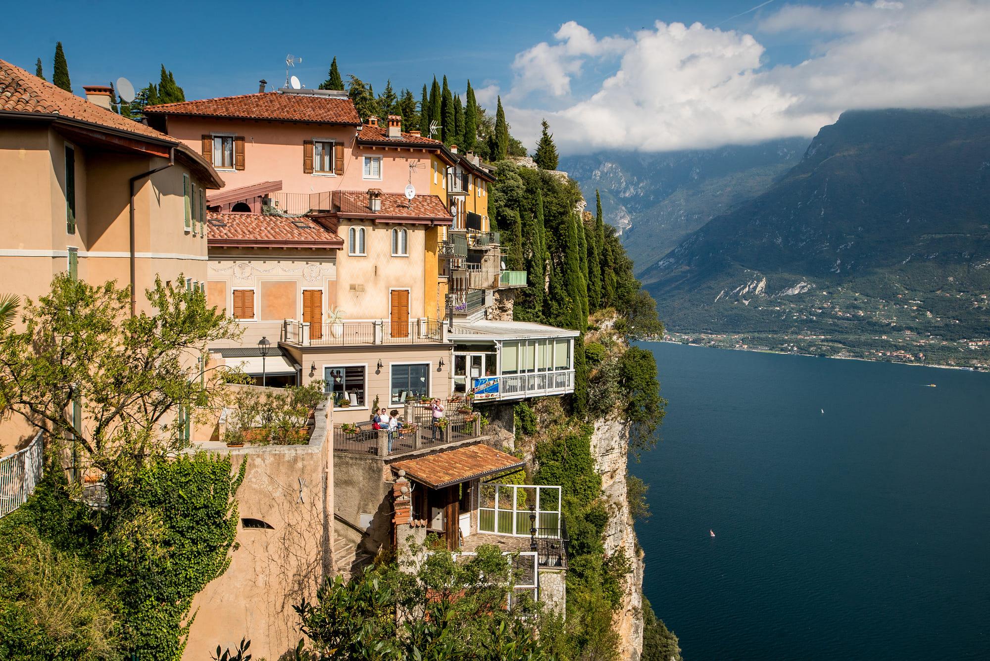 Tremosine Fino A Pieve Hotel Riviera Limone